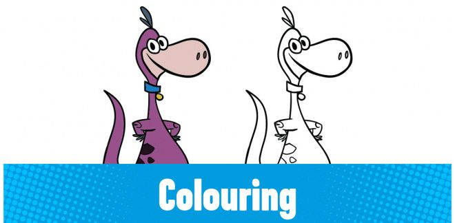 Can you colour in Dino?
