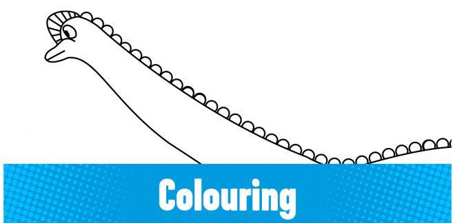 Colour-in the Diplodocus