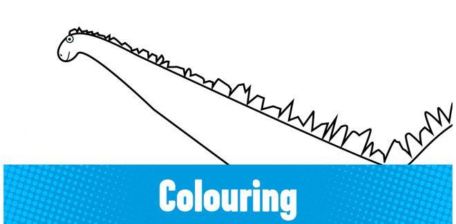 Colour-in the Europasaurus