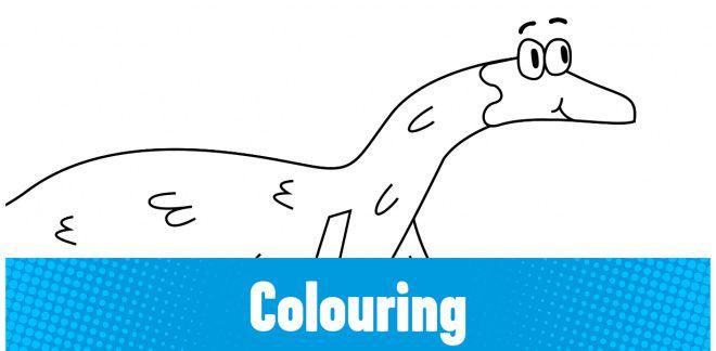Colour-in the Falcarius