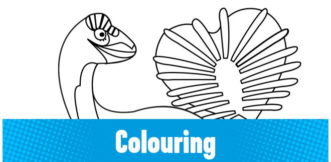 Colour-in the Hagryphus