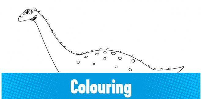 Colour-in the Quaesitosaurus