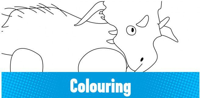 Colour-in the Xenoceratops