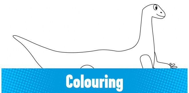 Colour-in the Zaphyrosaurus