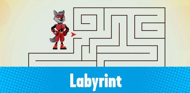 Find vej i labyrinten