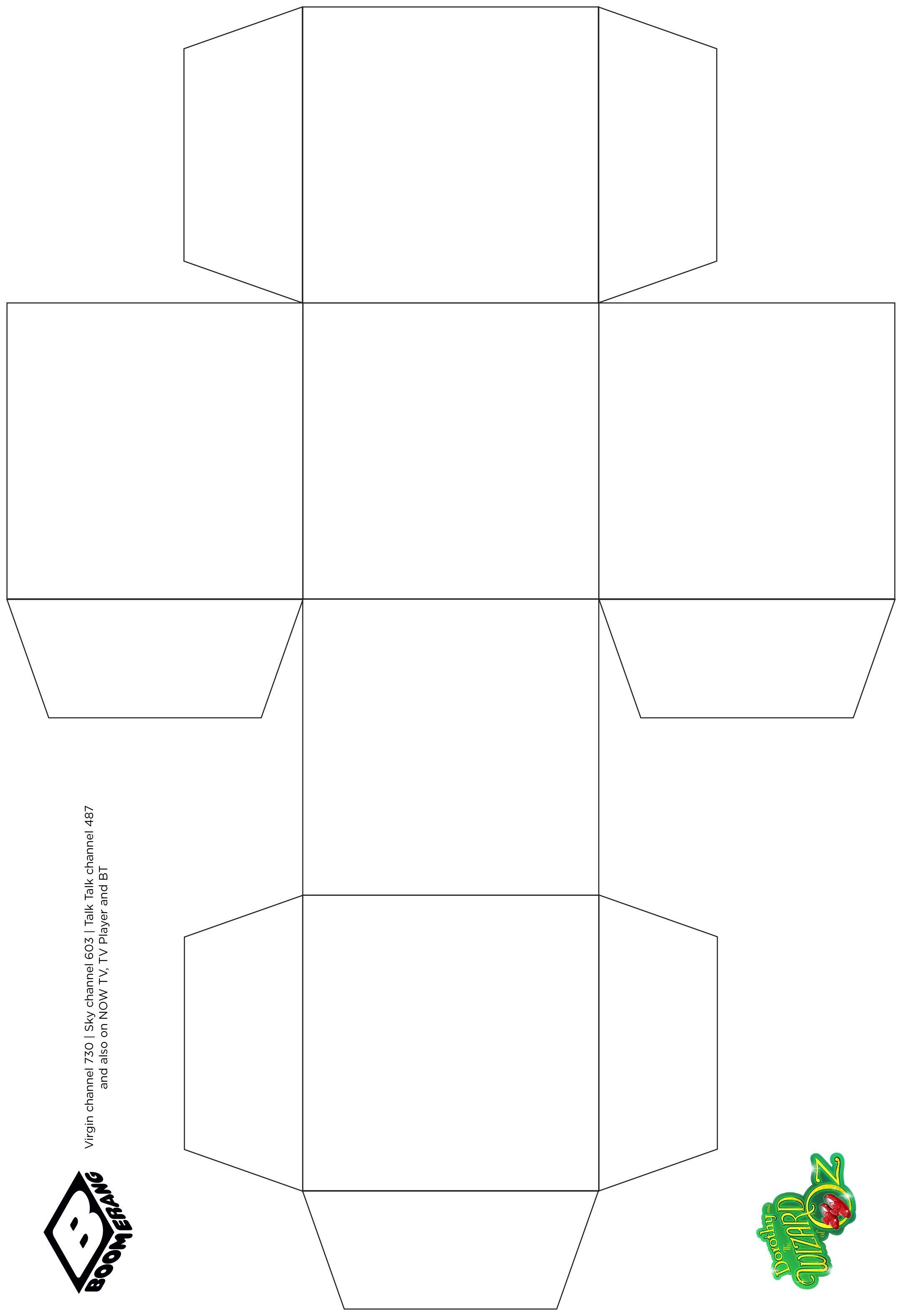 Descargar Pdf Ebook Cube Paper Template