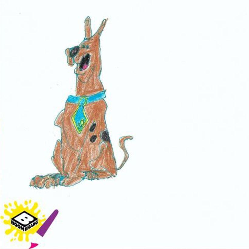 Scooby-Doo by Leonardo aged 6