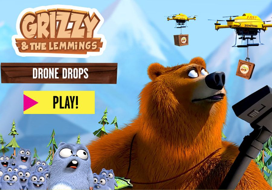 Grizzy and the Lemmings   Watch Videos and Play Games