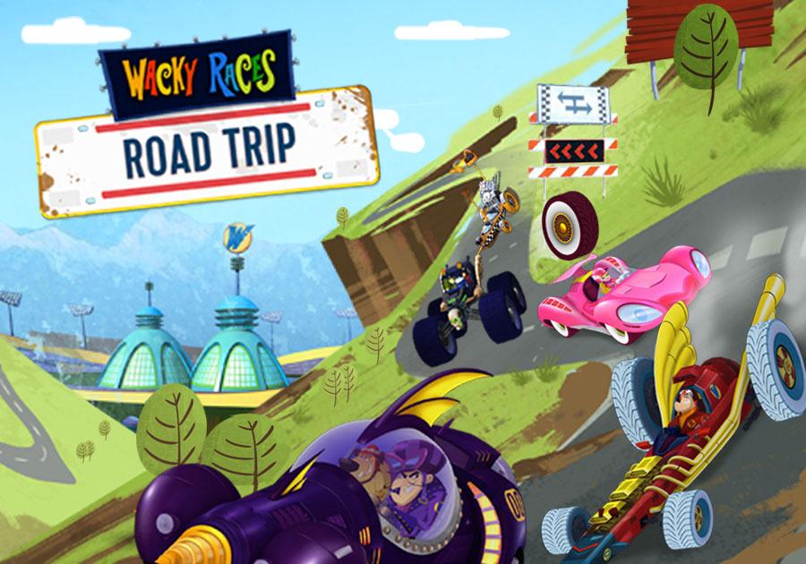 Wacky Races Road Trip