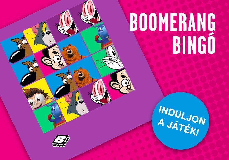 Boomerang TV-bingó