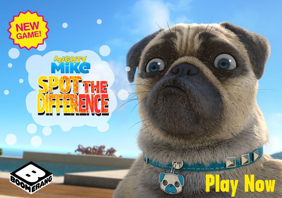 Mighty Mike - Spot the Difference