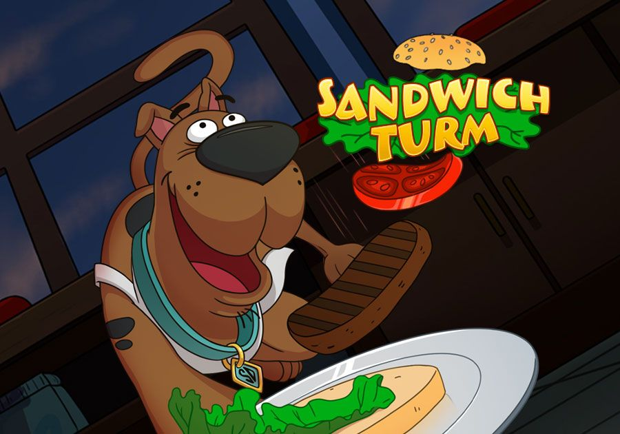 Sandwich Turm - Bleib cool, Scooby-Doo!