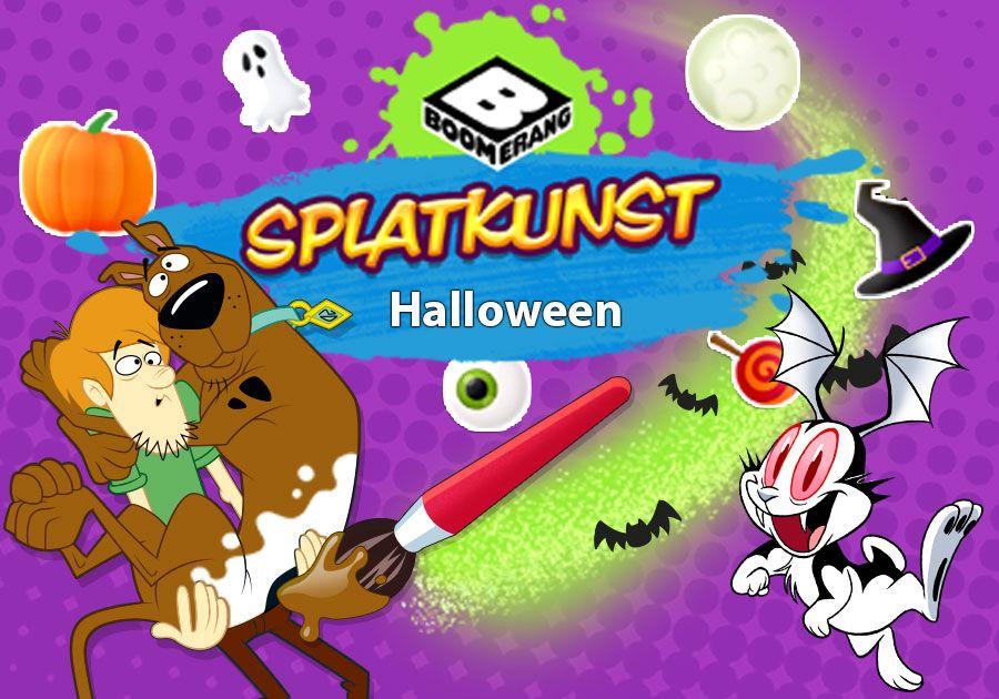 Splatkunst - Halloween