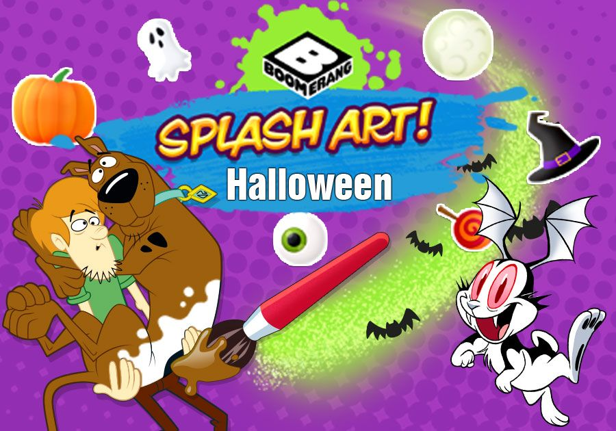 Halloween Splash Art