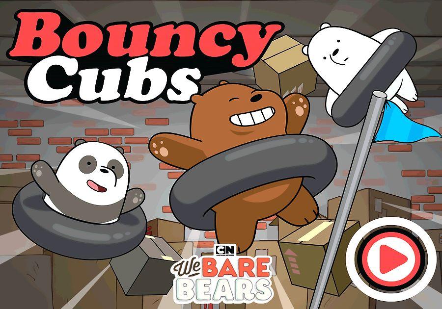 Bouncy Cubs | We Bare Bears Games | Boomerang