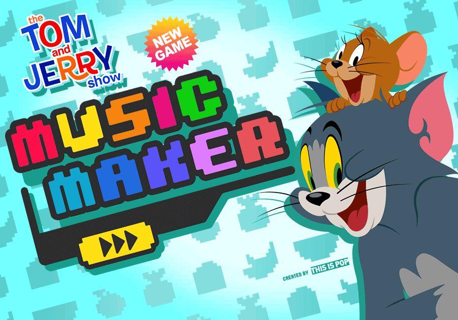 Music Maker | Tom & Jerry Games | Boomerang