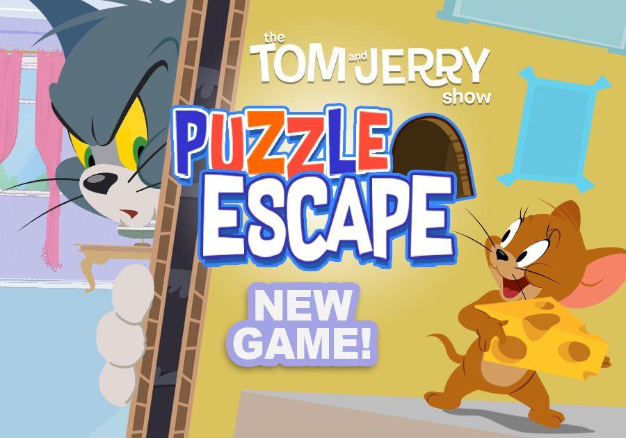 Puzzle Escape | Tom & Jerry Games | Boomerang