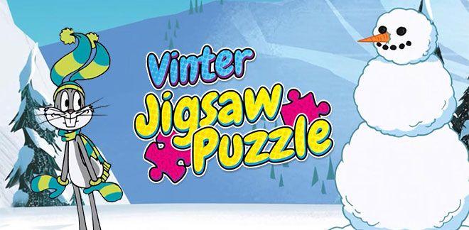 Vinter Jigsaw Puzzle-Snurre Sprett og vennene hans