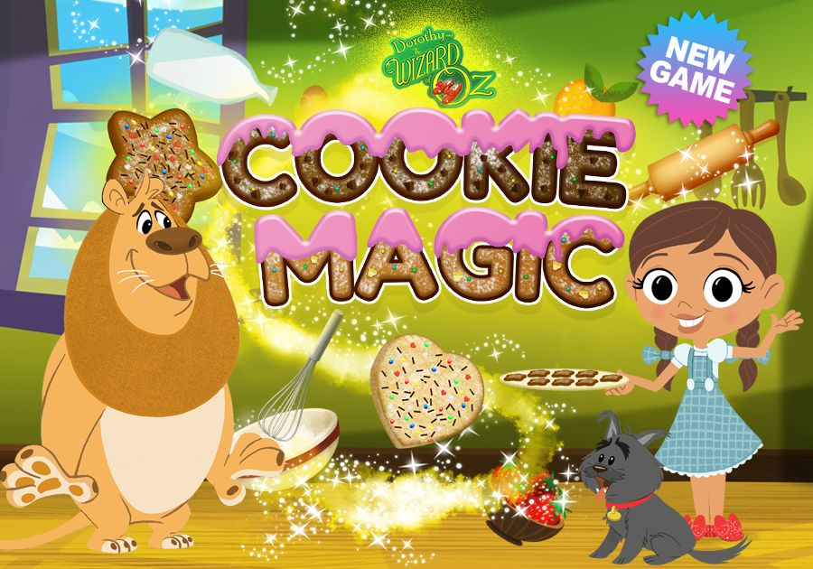 Cookie Magic | Dorothy And The Wizard of Oz Games | Boomerang