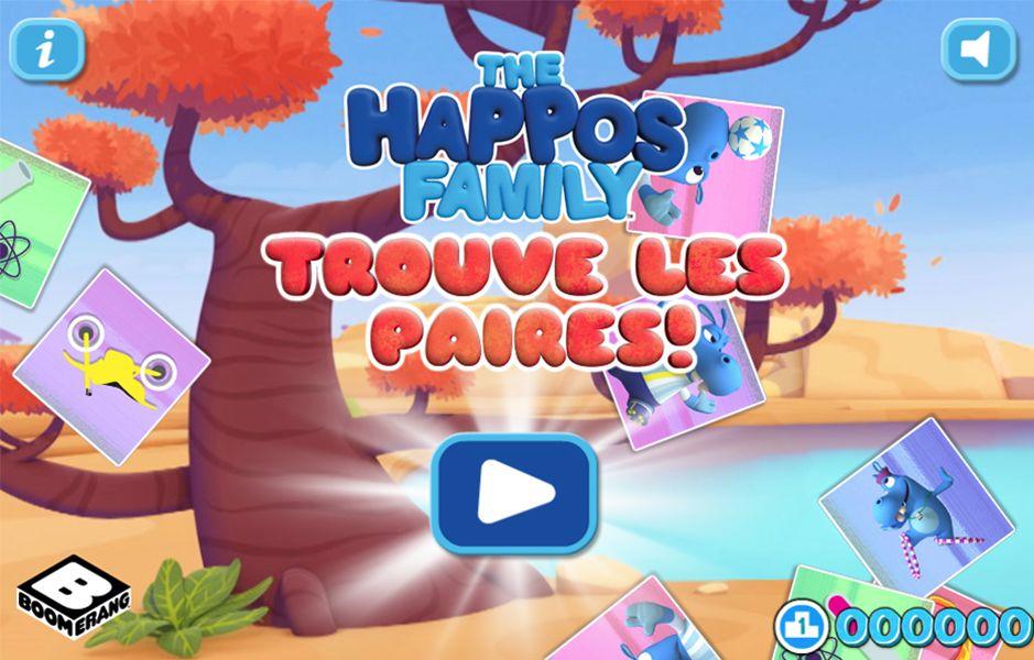 Trouve Les Paires!-The Happos Family