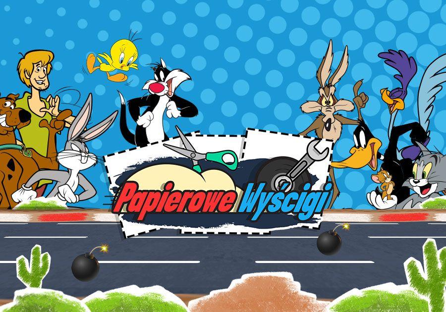 Papierowe Wyścigi - Tom i Jerry