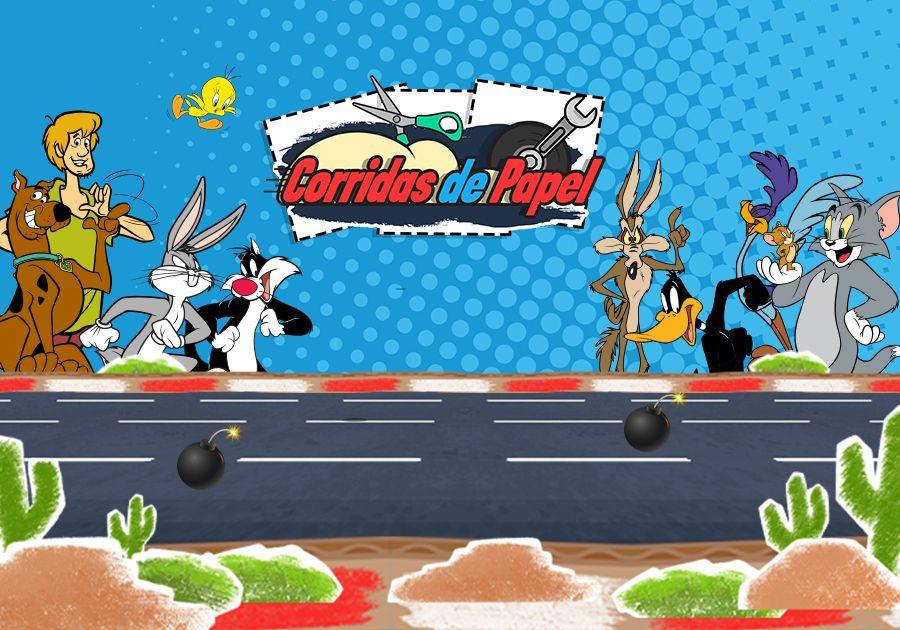 Corridas de Papel - Tom e Jerry