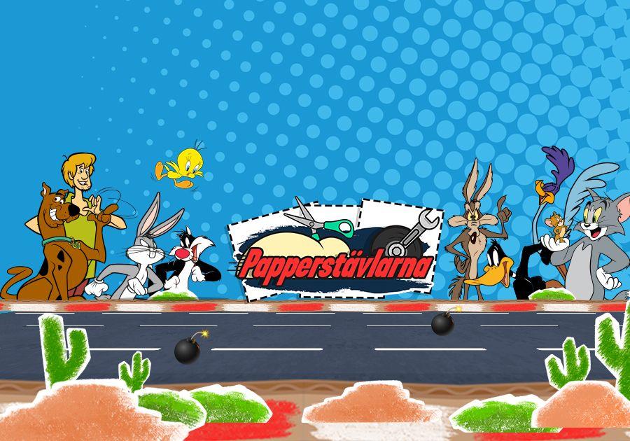 Papperstävlarna - Tom & Jerry