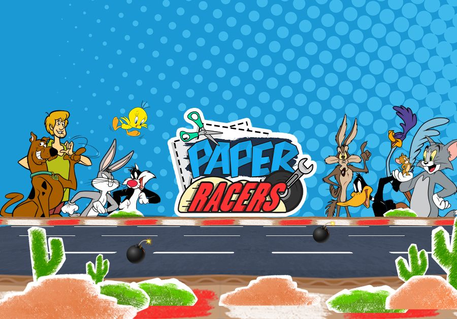 Paper Racers - Tom & Jerry