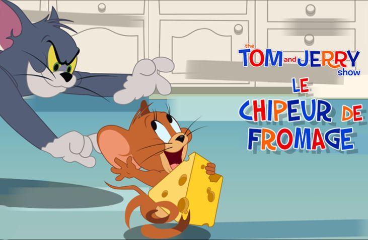 Le chipeur de fromage - Tom et Jerry