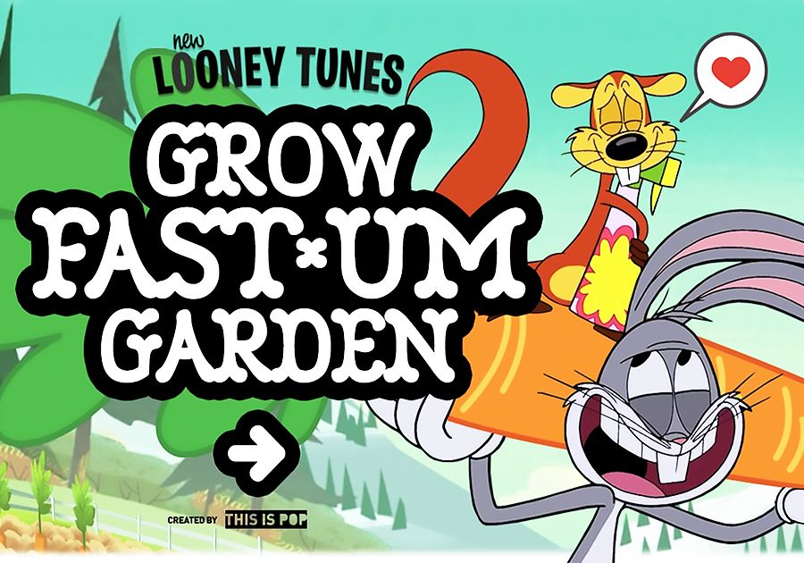 Grow Fast Um Garden | New Looney Tunes Games