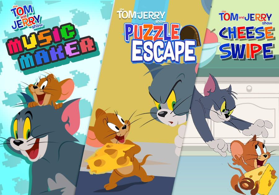 Best of Tom & Jerry Games!