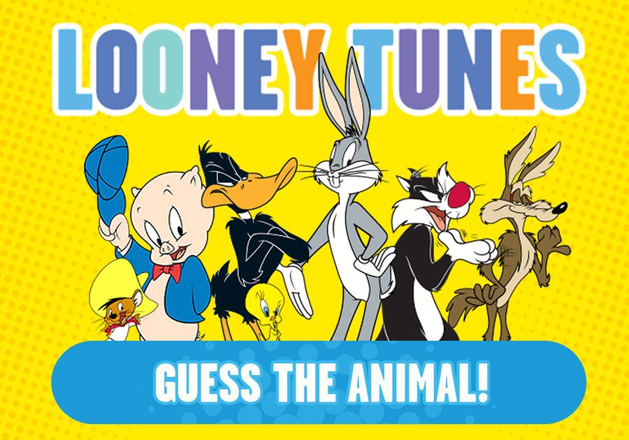 New Looney Tunes Quiz - Guess the Animal!