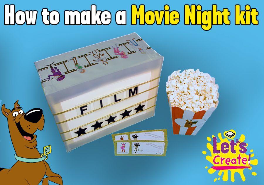 Make your own Movie Night kit!
