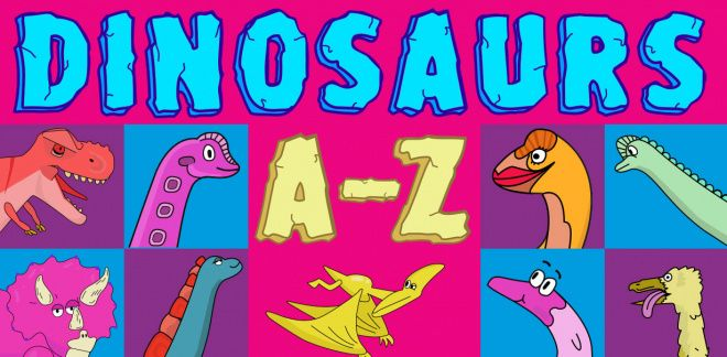 Dinosaurier från A-Z