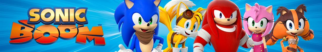 Sonic Boom | Games, videos and downloads | Boomerang