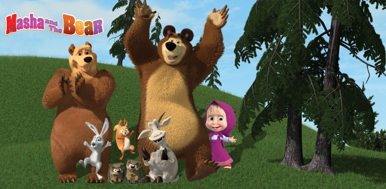 watch masha and the bear online free
