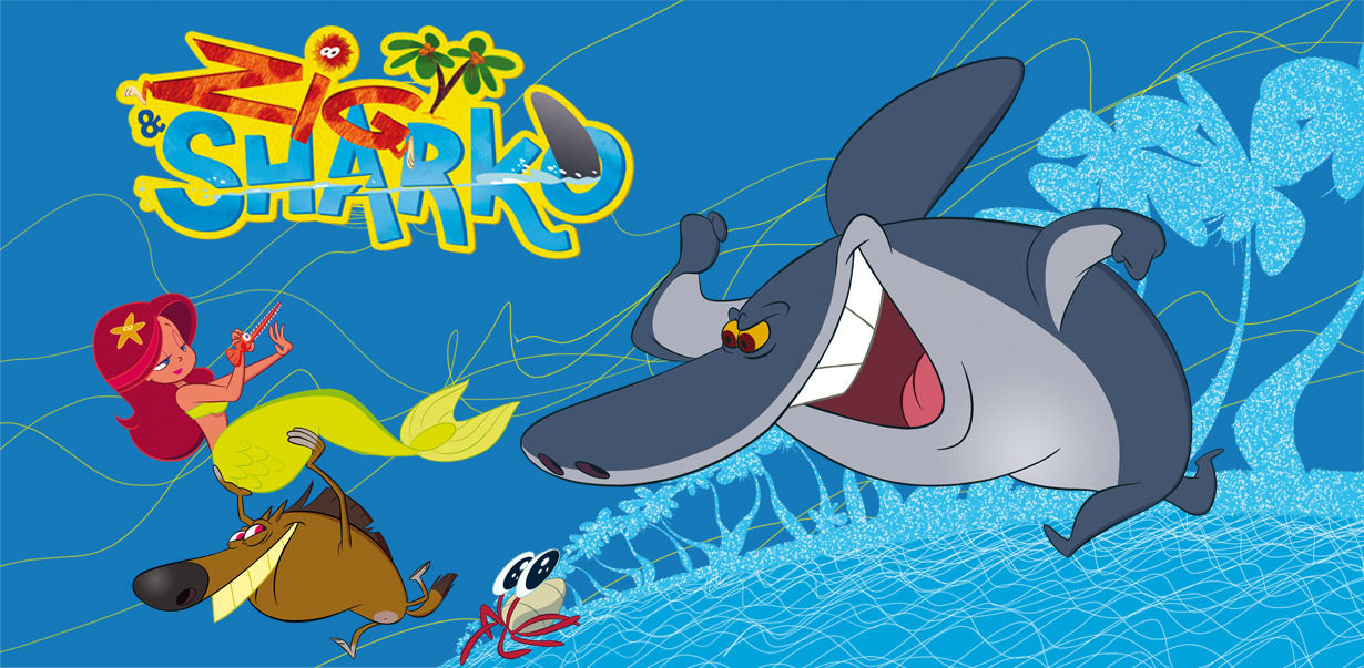 Zig sharko games videos downloads boomerang - Sharko dessin anime ...
