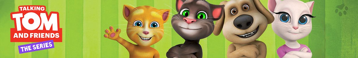 Talking Tom and Friends | Games, videos and downloads | Boomerang