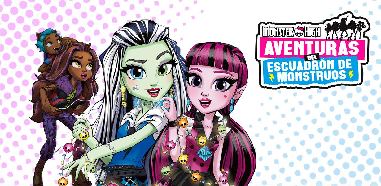 Monster High Aventuras do Gangue das Monstrinhas