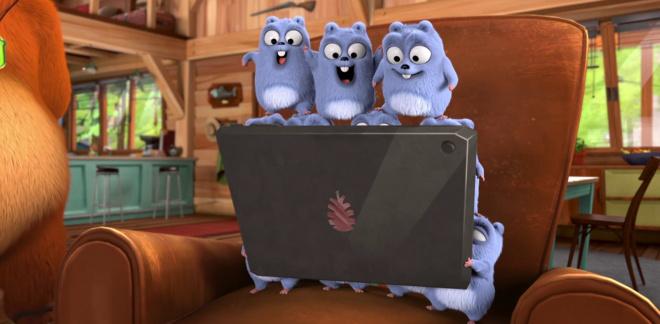 Il telecomando per la pace - Grizzy e i Lemmings