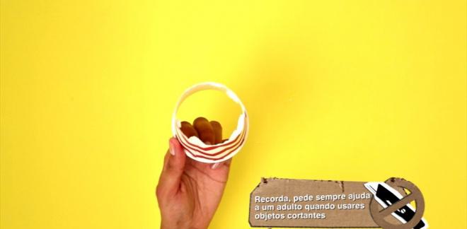 Canhão de confettis - Dicas Boomerang