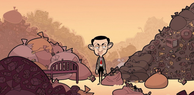 What A Load Of Rubbish - The Mr. Bean Animated Series