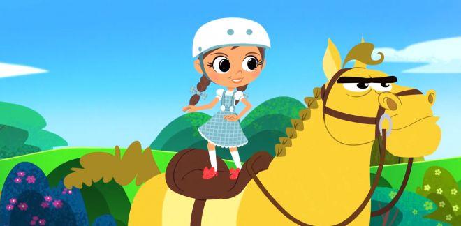 Le balai chasseur - Le Magicien d'Oz : Dorothy Et Ses Amis