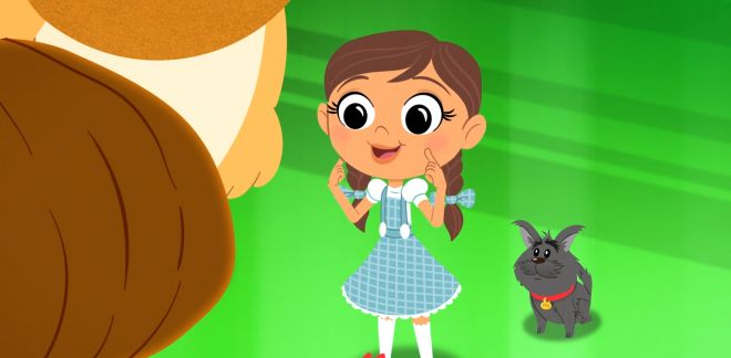 Jack, la tête de citrouille - Le Magicien d'Oz : Dorothy Et Ses Amis