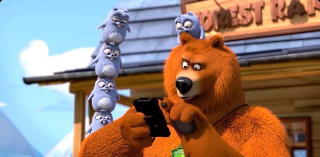 Téléphone portable  - Grizzy Et Les Lemmings