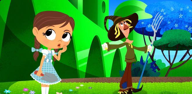 Le potager magique - Le Magicien d'Oz : Dorothy Et Ses Amis