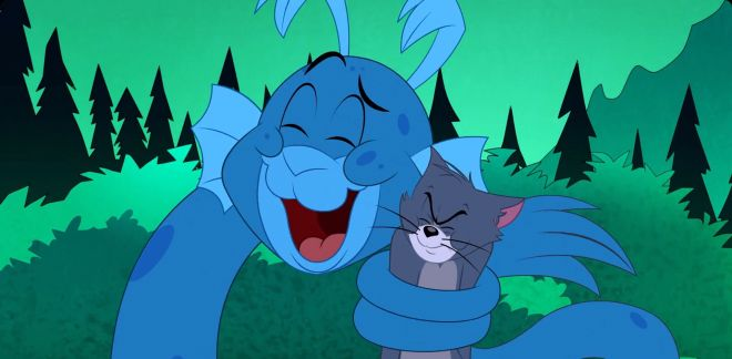 Le monstre du Loch Ness - Tom Et Jerry