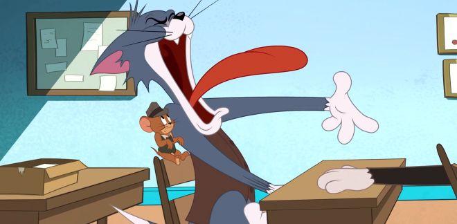 Retour à l'école  - Tom Et Jerry