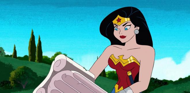 Wonder Woman's krigarträning - Va' Cool Scooby-Doo!