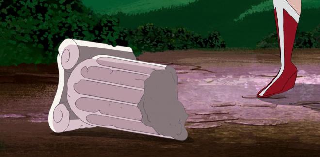 Wonder Woman's krigertrening - Du er kul Scooby-Doo!